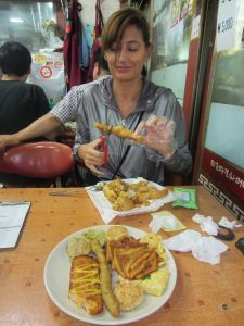 Kraljevstvo pržene hrane za dobro raspoloženje