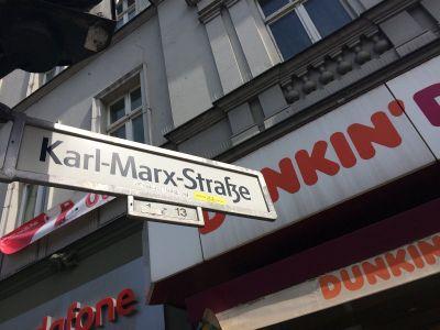Marx ima veliku ulicu u Berlinu