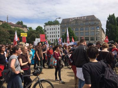 Protiv rasizma na Oranienplatzu, ali odvojeno