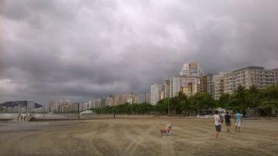 Santos: Plaža i neboderi kao vizura grada