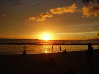 Spektakularni havajski zalazak sunca