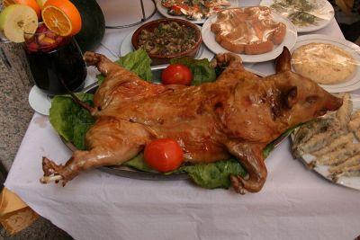 Cochinillo je dio standardne ponude restorana