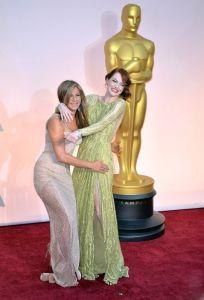 Emma Stone i Jennifer Aniston