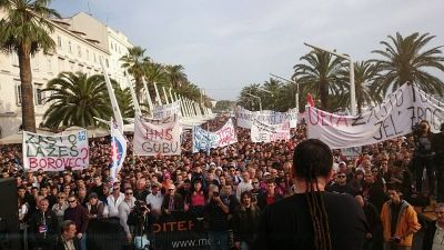 Prosvjed na Rivi izazvao je sumanute optužbe Glasa koncila
