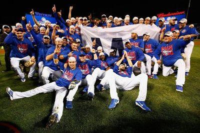 Slavlje Cubsa nakon osvajanja titule