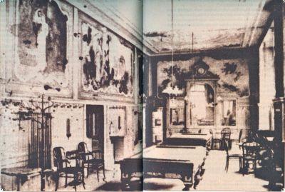 Stolovi za biljar bili su obavezni u kavanama