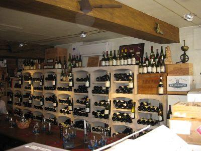 Interijer restorana Caves Madeleine