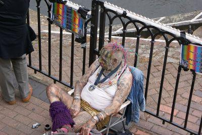 Tipična scena u Camden Townu