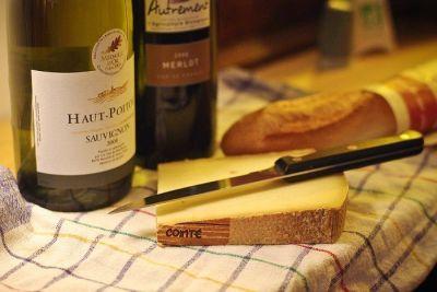 Sir i vino temelj su francuske gastromije
