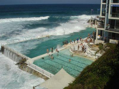 Kad su valovi preveliki otvoreni su samo bazeni
