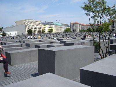 Holokaust Memorial nedaleko Brandenburških vrata