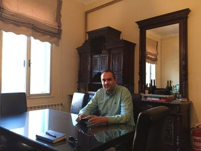 Ravnatelj Muzeja Vlatko Čakširan na radnom mjestu