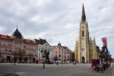 Središte grada s katedralom