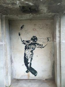 Banksy se nalazi i na berlinskim zidovima
