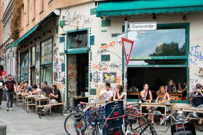 Klasična opuštena atmosfera Kreuzberga
