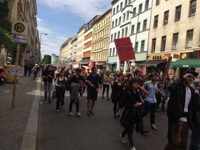 Prosvjedi na ulicama Kreuzberga