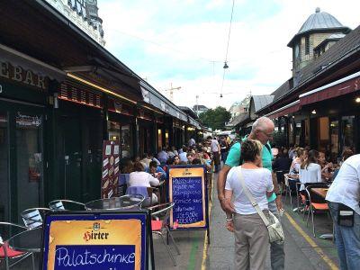 Naschmarkt: Tržnica puna orjentalnih delicija