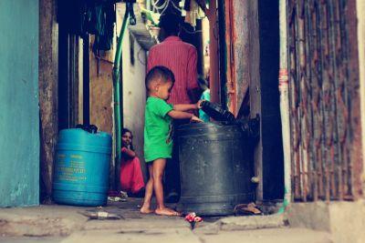 Mumbaj: Karakteristična ulična scena