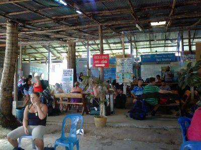 Autobusni kolodvor u Krabiju
