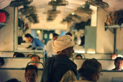 Vagon drugog razreda indijskog vlaka