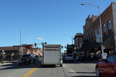 Glavna ulica u središtu Kalispella