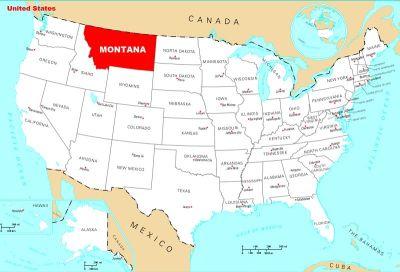 Montana se nalazi na granici s Kanadom