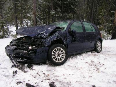 Najgluplji ishod vožnje sa samo dvije zimske gume