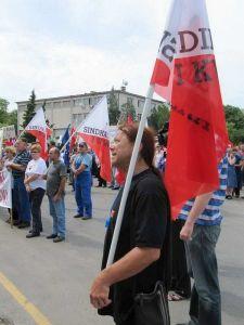 Na prosvjedu radnika Uljanika