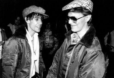 Bowie s Iggyjem Popom u berliskoj fazi