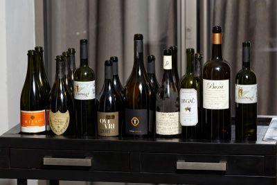 Sjajan izbor vrhunskih vina koja su se pila na večeri