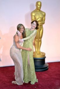 Emma Stone i Jennifer Aniston