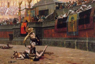 Gladiatorske borbe smatraju se prapočetkom mračnog turizma