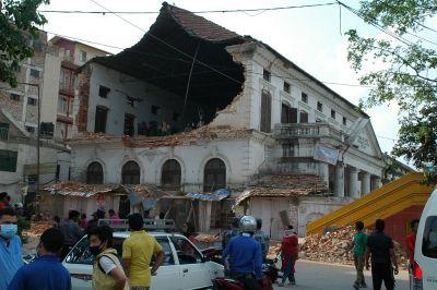 Najstarija škola Kathmandua iz 1854. bila prazna na dan potresa