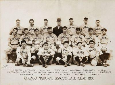 Ekipa Chicago Cubsa koja je osvojila naslov 1908.