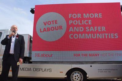 Corbyn se vrlo srčano bacio u kampanju